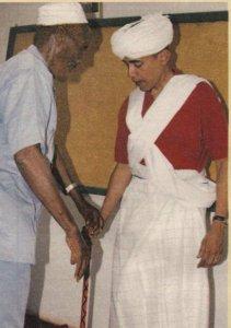 Obama muslim garb