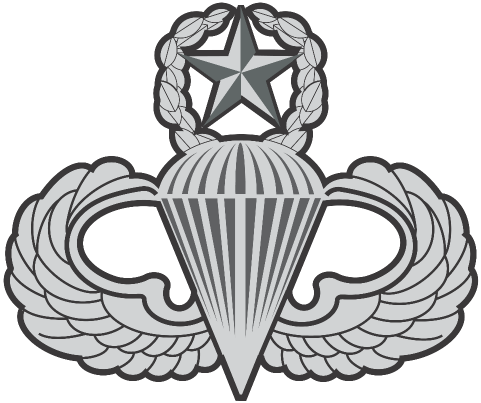 Master Parachutist Badge