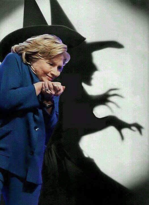 Hillary Clinton Shadow